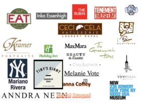 an assortment of business logos