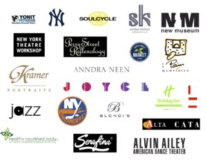 assortment of business logos